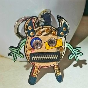 Burberry Monster Purse Charm Key Fob